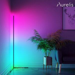 Aurelis edge kolorowa lampa narożna LED RGB (6)