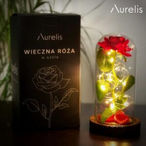 Aurelis wieczna róża w szkle (2)